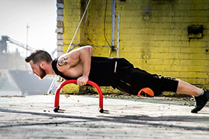 Parallettes push ups