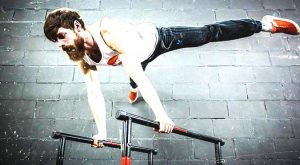 Your Best Ever 10-Minute Parallel Bar Workout