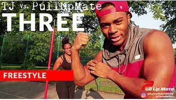 TJ Vs. Pull Up Mate Three - Freestyle Workout